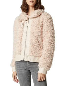 Curly Faux Shearling Jacket by Blanknyc