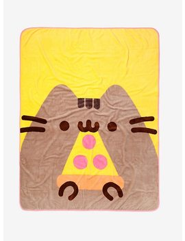 Pusheen Pizza Throw Blanket by Hot Topic