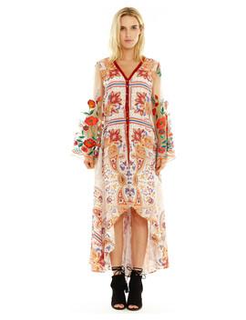 Aratta Women's Cream Surreal Dreamer Dress by Aratta