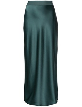 High Waisted Long Skirt by Theory