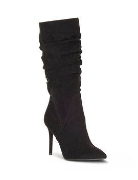Lyndy2 Ruched Stiletto Boot by Jessica Simpson