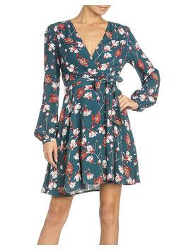 Miss Me Women's Cross Body Floral Dress by Missme