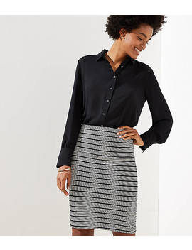 Knit Pull On Pencil Skirt by Loft