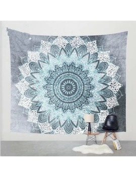 Bohemian Handmade Tapestry Snowflake Wall Hanging Blanket Beach Towel 180 X 230cm by Coutlet