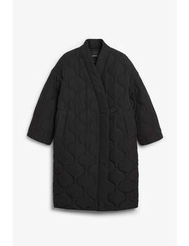 Kimono Style Coat by Monki
