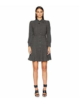 Long Sleeve Sprinkle Dot Dress by Rebecca Taylor