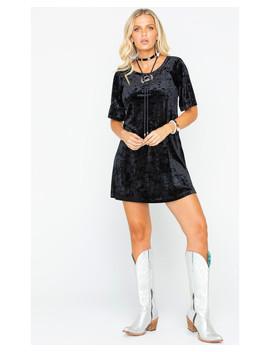 Bb Dakota Women's Velvet T Shirt Dress by Bbdakota