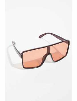 Bright Eyes Shield Sunglasses by Free People