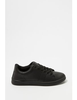 Lace Up Tonal Sneaker by Urban Planet