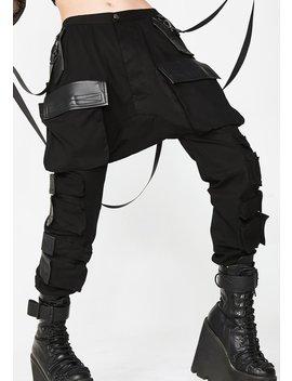 Commander Smoke Unisexx Cargo Pants by Club Exx