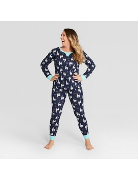 Women's Holiday Animals Pajama Set   Wondershop™ Navy by Shop This Collection