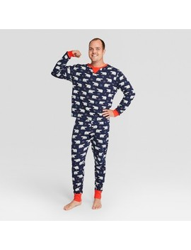 Men's Holiday Animals Pajama Set   Wondershop™ Navy by Shop This Collection