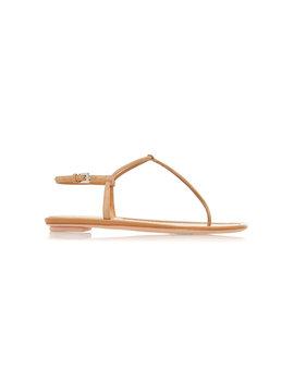 Suede Sandals by Prada
