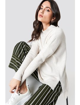 Vertical Collar Sweater by Trendyol