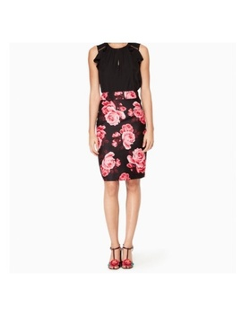 Kate Spade Rambling Roses Rosa Pencil Skirt by Kate Spade