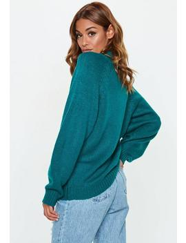 Aqua High Neck Oversized Basic Jumper by Missguided