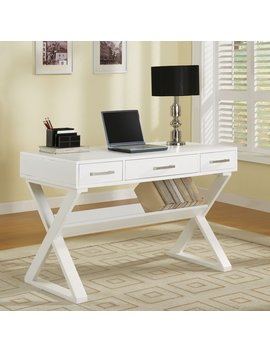Coaster Furniture Writing Desk With Bottom Shelf by Hayneedle