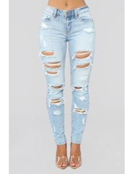 Played Out Skinny Jeans   Light Blue Wash by Fashion Nova