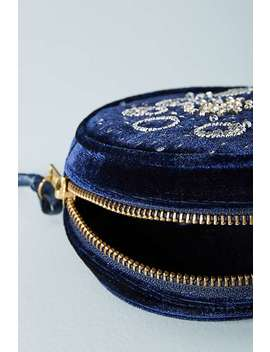 moon-phases-velvet-pouch by anthropologie
