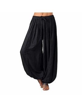 Muramba Clearance Women Plus Size Solid Loose Harem Yoga Pants by Muranba Pants