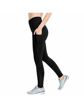 Sale Athletic Yoga Pants,Women's Yoga Fitness Running Gym Leggings Stretch Sports With Pocket Trousers By Newonesun by Newonesun Pant