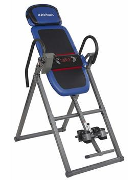 Innova Itm4800 Advanced Heat And Massage Therapeutic Inversion Table by Innova Health And Fitness