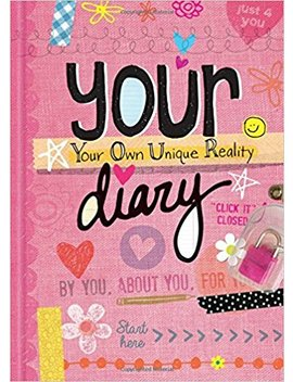 Your Diary   Sparkly Lock & Keys   Girls 8+   Illustrated And Activities by Amazon