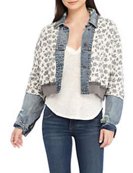 Ditsy Denim Jacket by Free People