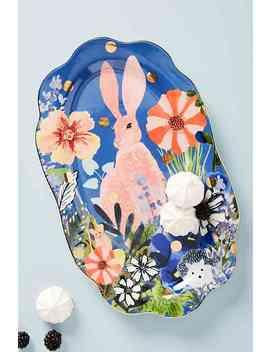 Garden Party Platter by Anthropologie