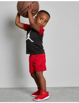 Jordan Jumpman 4 Life T Shirt/Shorts Set Infant by Jordan