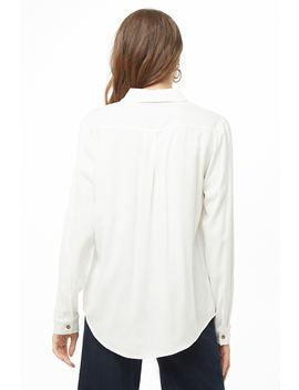 Flap Pocket Shirt by Forever 21