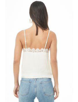Woven Lace Camisole by Forever 21