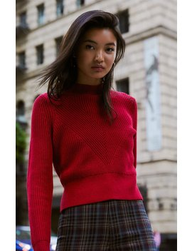 Kendall & Kylie Rachel Mock Neck Sweater by Pacsun
