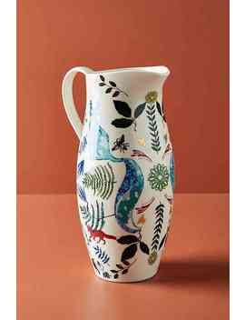 Flora And Fauna Pitcher by Josie Shenoy