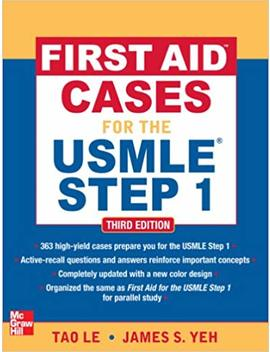First Aid Cases For The Usmle Step 1, Third Edition (First Aid Usmle) by Tao Le