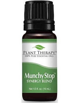 Plant Therapy Munchy Stop Synergy Essential Oil 10 M L 100 Percents Pure, Undiluted, Therapeutic Grade by Plant Therapy