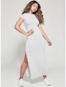 Striped Long Dress A$Ap Rocky by Guess
