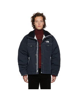 Navy The North Face Edition Wb J405 Jacket by Junya Watanabe