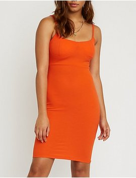 Bustier Bodycon Dress by Charlotte Russe