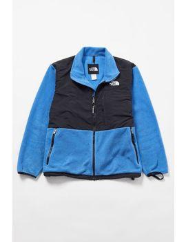 Vintage The North Face Blue + Black Fleece Jacket by Urban Renewal
