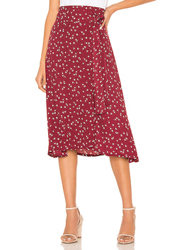 Valencia Wrap Skirt by Faithfull The Brand