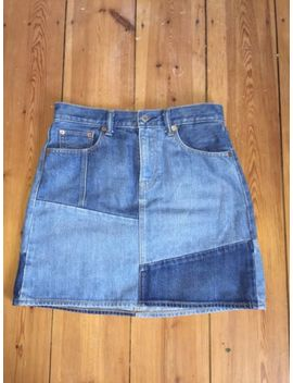 Levi's Patchwork Denim Skirt W28 by Ebay Seller