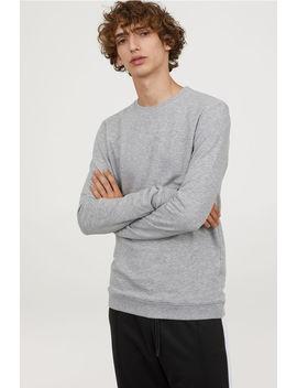Sweatshirt Muscle Fit by H&M