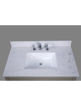 "Renaissance Vanity Bari 37"" Single Bathroom Vanity Top & Reviews by Renaissance Vanity"