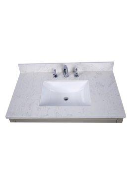 """Renaissance Vanity Lucca 37"""" Single Bathroom Vanity Top by Renaissance Vanity"""
