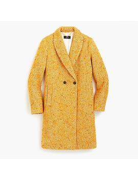 Tall Daphne Coat In Italian Tweed by J.Crew