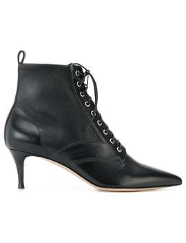 Lace Up Ankle Boots by Gianvito Rossi