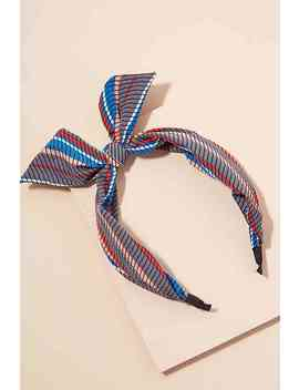 Fran Striped Headband by Anthropologie
