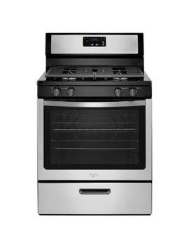 5.1 Cu. Ft. Gas Range With Under Oven Broiler In Stainless Steel by Whirlpool