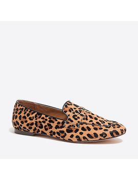 Calf Hair Penny Loafers by J.Crew